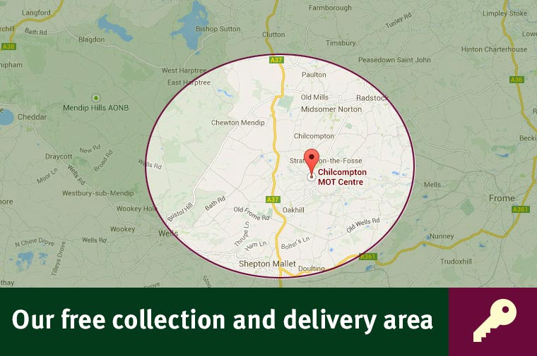 The area we cover for our free collection service