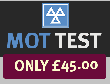 MOT TEST ONLY £45.00